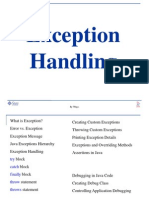 4 Java Exception Handling