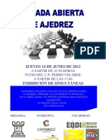 Ajedrez Camargo Jueves 14 de Junio de 2012