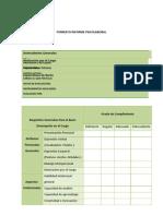 Formato Informe Psicolaboral
