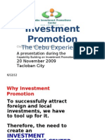 Investment Promo Cebu Experience LCP