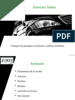 Autocars James - Présentation de la société
