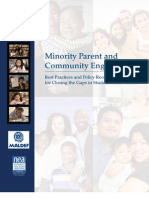 Minority Parent and Community Engagement