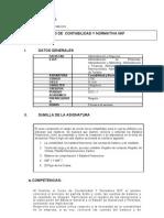 Contabilidad y Normativa NIIF