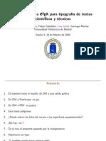Redaccion de Textos Cientificos Con LaTeX