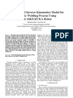 2011-Forward and Inverse LKinematics Model for Welding Process Using KK-16KS KUKA Robot