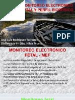 MONITOREO ELECTRÓNICO FETAL Y PERFIL BIOSFÍSICO