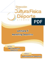 05 Lectura Marketing Deportivo
