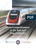 Global Competitiveness Rail and Transit Industry
