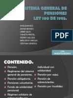 Exposicion Del Sistema General de Pensiones.