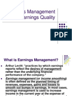 Earnings Management 1