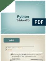 python básico (ii)