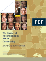 The Impact of Redistricting in YOUR Community