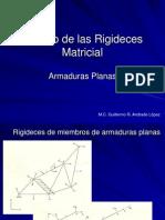 Metodo Matricial de Las Rigideces (Armaduras)