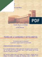 Derecho Comercial I. Teoria de Lo Accesorio y Actos Mixtos