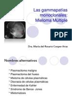 Gammapatias monoclonales