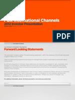 FIC Investor Presentation 2012