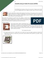 La tecnología de Identificación por Radio Frecuencia (RFID)