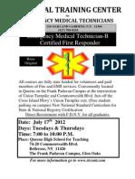 EMT Course 2012