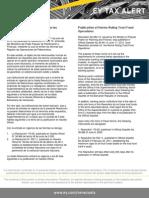 Tax Alert 2012 - Normas Que Regulan Las Operaciones de Fideicomisos