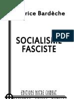Socialisme Fasciste_BARDECHE Maurice_livret (2012)