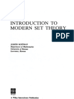 Judith Roitman - Introduction to Modern Set Theory - Wiley