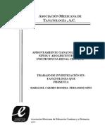 021 Afrontamiento Tanatologico en Ninos y Adolescentes Con Insuficiencia Renal Cronica