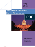 ND-Sen DFM Research for ND Democratic Party (May 2012)