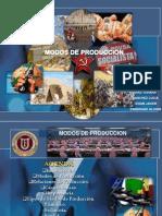 Exposicion Modos de Produccion