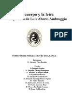 El Cuerpo y La Letra en PDF