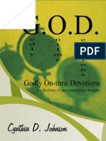 G.O.D. Godly On-Time Devotions