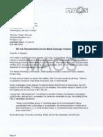 US Ethics Complaint MackCheapSkate