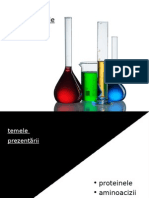 Proiect Chimie Proteine Si Aminoacizi
