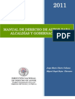 MANUAL DE DERECHO DE AUTOR PARA ALCALDÍAS Y GOBERNACIONES, VERSION FINAL 2011
