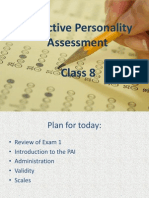 Class 8 PAI Intro