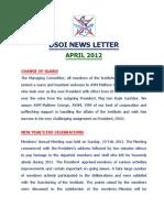 DSOI Newsletter Apr 12