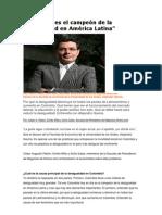 Colombia es el campeón de la desigualdad en América Latina