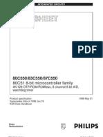Datasheet 80C550
