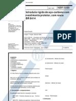 NBR 5598 - Eletroduto Rigido de Aco Carbono Revestido Com Rosca NBR 6414