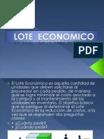 lote economico