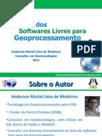 Softwares Livres de Geoprocessamento