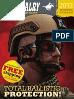 U. S. Cavalry 2012 Summer Catalog • ESS B5 Glasses & Max Pro Armor Gunfighter Helmet