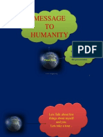 Message of Earth