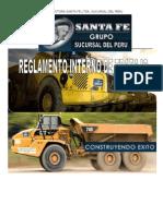 Reglamento Interno de Trabajo Constructora Santa Fe