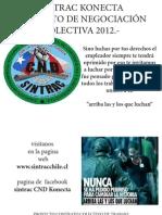 Proyecto de Negociacion Colectiva 2012 Konecta