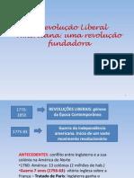 REVOLUÇÃO AMERICANA- N.B.