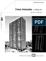 Concrete Shear Wall Frame Interactions