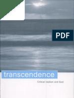 Margaret Archer Transcendence Critical Realism