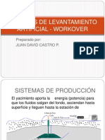 Sistemas de Levantamiento Artificial - Workover