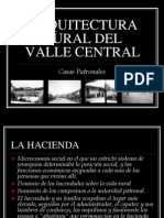 Arquitectura Rural Del Valle Central