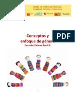 Conceptos y Enfoque de Genero Paloma Bonfil